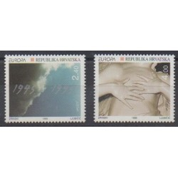 Croatia - 1995 - Nb 285/286 - Europa