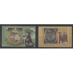 Croatia - 1995 - Nb 279/280 - Religion