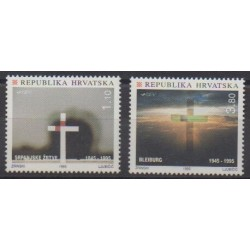 Croatia - 1995 - Nb 290/291 - Second World War