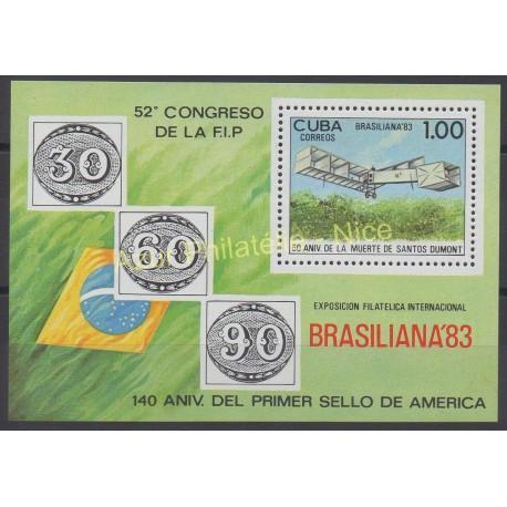 Cuba - 1983 - Nb BF 77 - Planes