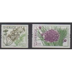 Suède - 2009 - No 2701/2702 - Fleurs
