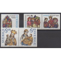 Sweden - 1999 - Nb 2129/2133 - Christmas