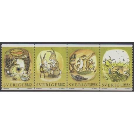Suède - 1999 - No 2071/2074 - Horoscope