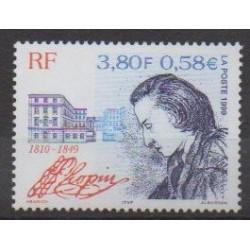 France - Poste - 1999 - No 3287 - Musique