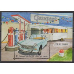 France - Blocks and sheets - 2020 - Nb F5391 - Cars - Philately