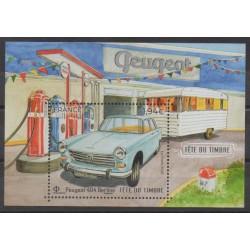 France - Blocs et feuillets - 2020 - No F5391 - Voitures - Philatélie - Peugeot 404