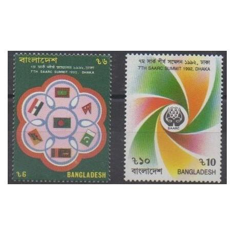 Bangladesh - 1992 - No 409/410