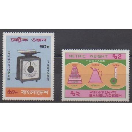 Bangladesh - 1983 - No 178/179 - Sciences et Techniques