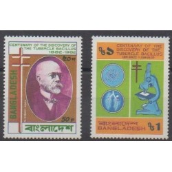 Bangladesh - 1983 - Nb 180/181 - Health