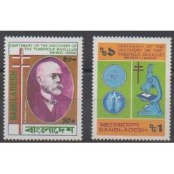 Bangladesh - 1983 - No 180/181 - Santé ou Croix-Rouge