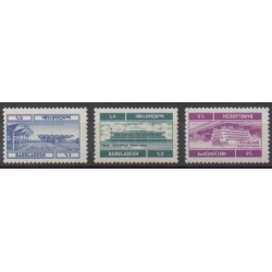 Bangladesh - 1983 - Nb 202/204 - Postal Service