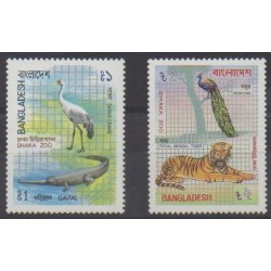 Bangladesh - 1984 - No 211/212 - Animaux