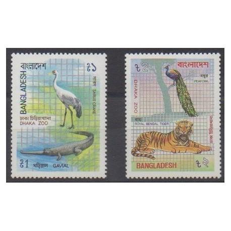 Bangladesh - 1984 - Nb 211/212 - Animals