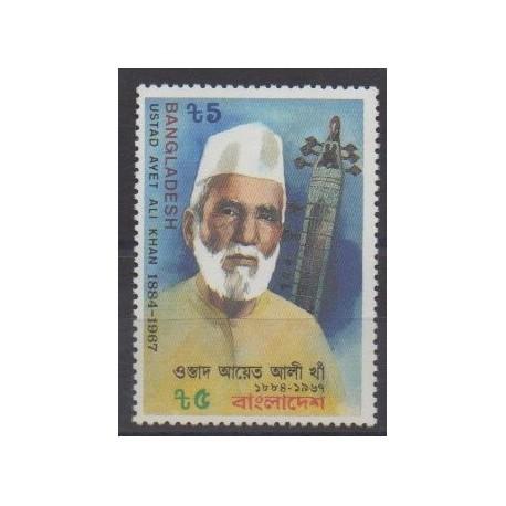 Bangladesh - 1987 - Nb 254 - Celebrities