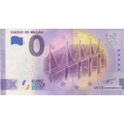 Euro banknote memory - 12 - Viaduc de Millau - 2020-2 - Anniversary