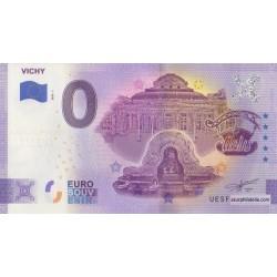 Billet souvenir - 03 - Vichy - 2020-1 - Anniversaire