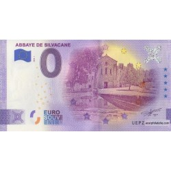 Euro banknote memory - 13 - Abbaye de Silvacane - 2020-1 - Anniversary
