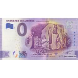 Euro banknote memory - 13 - Carrières de Lumières - Dali - 2020-5 - Anniversary