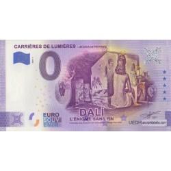 Euro banknote memory - 13 - Carrières de Lumières - Dali - 2020-5