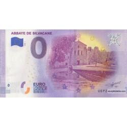 Euro banknote memory - 13 - Abbaye de Silvacane - 2020-1