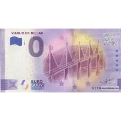 Euro banknote memory - 12 - Viaduc de Millau - 2020-2