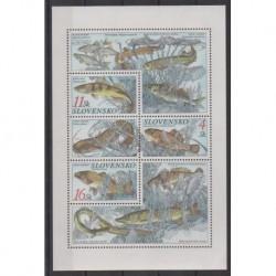 Slovaquie - 1998 - No 271/273 - Vie marine