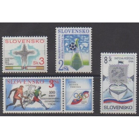 Slovaquie - 1994 - No 157/160