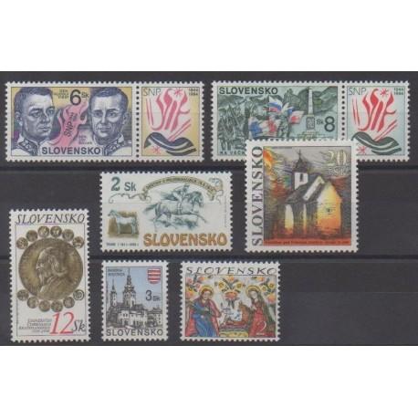 Slovakia - 1994 - Nb 165/171