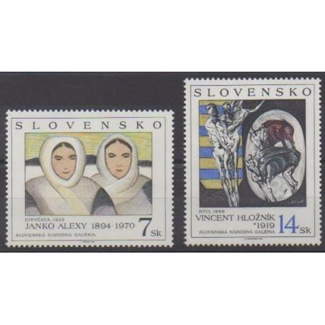 Slovakia - 1994 - Nb 175/176 - Paintings
