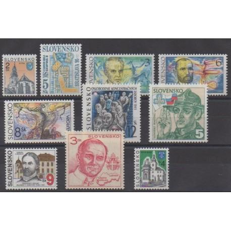Slovaquie - 1995 - No 184/193