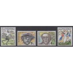Slovakia - 1996 - Nb 207/210