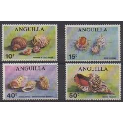 Anguilla - 1969 - No 43/46 - Vie marine