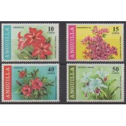 Anguilla - 1969 - No 39/42 - Fleurs