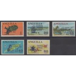 Anguilla - 1969 - Nb 47/51 - Christmas