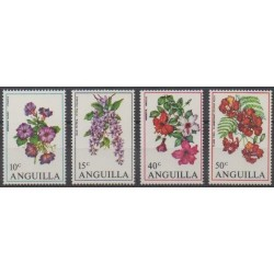 Anguilla - 1970 - Nb 56/59 - Flowers