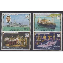 Anguilla - 1977 - Nb 255/258 - Royalty