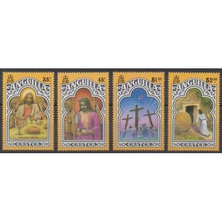 Anguilla - 1990 - No 758/761 - Pâques