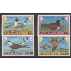 Anguilla - 1990 - Nb 770/773 - Birds