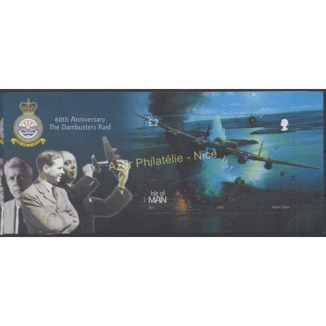 Man (Ile de) - 2003 - No BF 52 - Avions