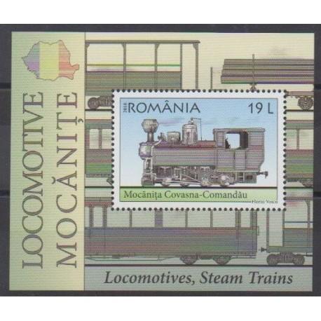 Romania - 2018 - Nb BF537 - Trains