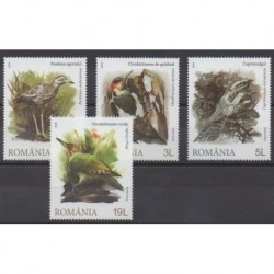 Romania - 2018 - Nb 6360/6363 - Birds