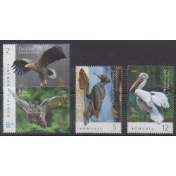 Romania - 2018 - Nb 6369/6372 - Birds