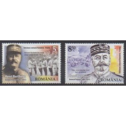 Roumanie - 2018 - No 6383/6384 - Histoire militaire