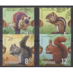 Romania - 2020 - Ecureuils - Mamals