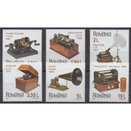 Roumanie - 2020 - No 6543/6548 - Musique