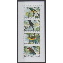 Mayotte - 2002 - Nb 134/137 - Birds