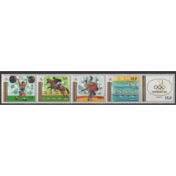 Turkmenistan - 1993 - Nb 25/29 - Summer Olympics