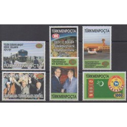 Turkmenistan - 1996 - Nb 54A/54F - Various Historics Themes