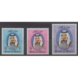 Qatar - 1987 - Nb 551/553