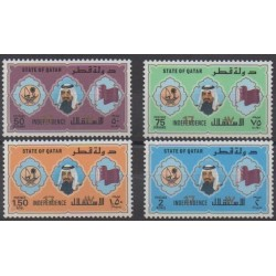 Qatar - 1988 - Nb 556/559 - Various Historics Themes